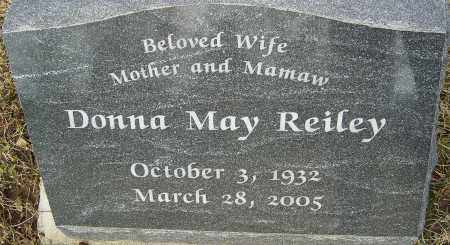 REILEY, DONNA MAY - Franklin County, Ohio | DONNA MAY REILEY - Ohio Gravestone Photos