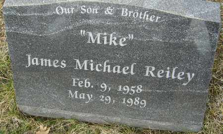 REILEY, JAMES MICHAEL - Franklin County, Ohio | JAMES MICHAEL REILEY - Ohio Gravestone Photos