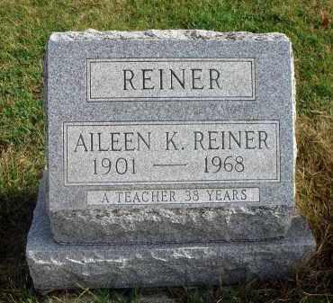 REINER, AILEEN K. - Franklin County, Ohio | AILEEN K. REINER - Ohio Gravestone Photos