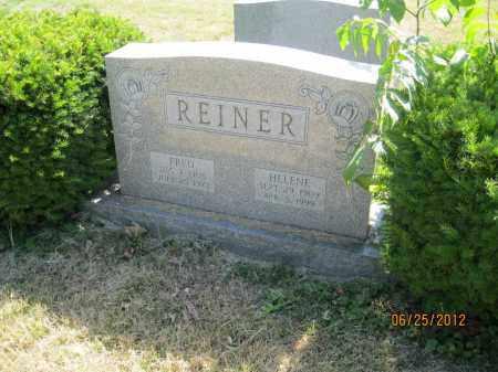 "REINER, FRED ""FRITZ"" - Franklin County, Ohio 