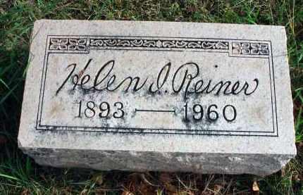 REINER, HELEN I. - Franklin County, Ohio | HELEN I. REINER - Ohio Gravestone Photos