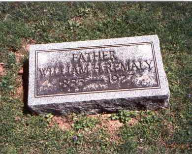 REMALY, WILLIAM H. - Franklin County, Ohio | WILLIAM H. REMALY - Ohio Gravestone Photos