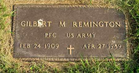 REMINGTON, GILBERT M. - Franklin County, Ohio | GILBERT M. REMINGTON - Ohio Gravestone Photos