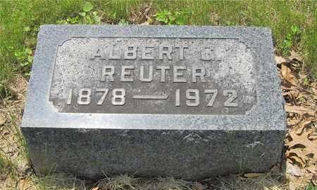 REUTER, ALBERT G. - Franklin County, Ohio | ALBERT G. REUTER - Ohio Gravestone Photos