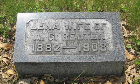 REUTER, LENA - Franklin County, Ohio | LENA REUTER - Ohio Gravestone Photos