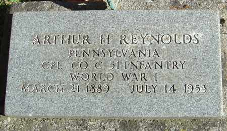 REYNOLDS, ARTHUR H - Franklin County, Ohio | ARTHUR H REYNOLDS - Ohio Gravestone Photos
