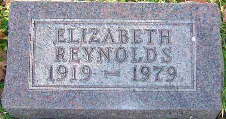 REYNOLDS, ELIZABETH - Franklin County, Ohio | ELIZABETH REYNOLDS - Ohio Gravestone Photos