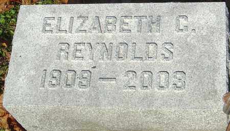 REYNOLDS, ELIZABETH C - Franklin County, Ohio | ELIZABETH C REYNOLDS - Ohio Gravestone Photos