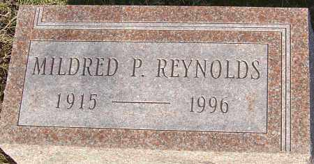 REYNOLDS, MILDRED P - Franklin County, Ohio | MILDRED P REYNOLDS - Ohio Gravestone Photos