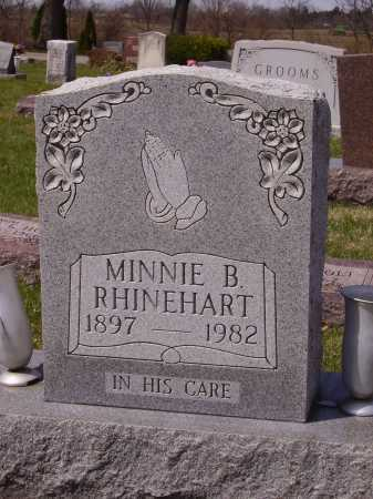 RHINEHART, MINNIE B. - Franklin County, Ohio | MINNIE B. RHINEHART - Ohio Gravestone Photos