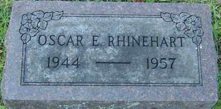 RHINEHART, OSCAR E - Franklin County, Ohio | OSCAR E RHINEHART - Ohio Gravestone Photos