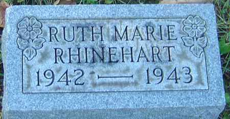 RHINEHART, RUTH MARIE - Franklin County, Ohio | RUTH MARIE RHINEHART - Ohio Gravestone Photos