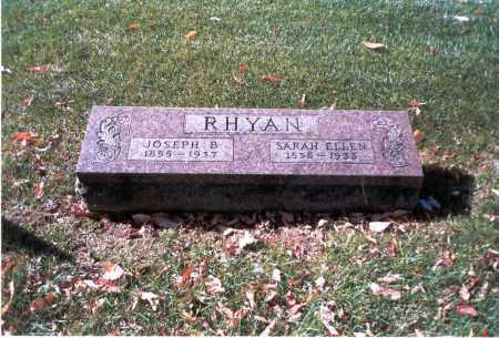 RHYAN, JOSEPH B. - Franklin County, Ohio | JOSEPH B. RHYAN - Ohio Gravestone Photos