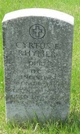 RHYMER, CYRTUS E. - Franklin County, Ohio | CYRTUS E. RHYMER - Ohio Gravestone Photos