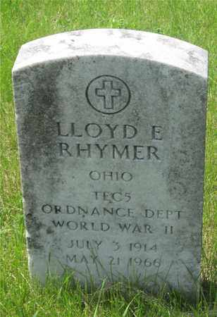 RHYMER, LLOYD E. - Franklin County, Ohio | LLOYD E. RHYMER - Ohio Gravestone Photos