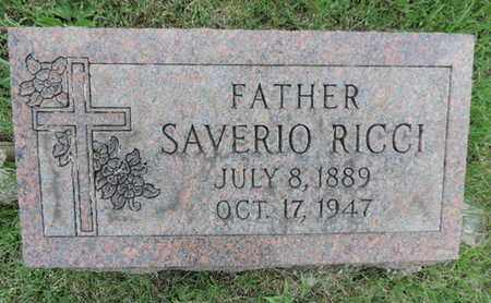 RICCI, SAVERIO - Franklin County, Ohio | SAVERIO RICCI - Ohio Gravestone Photos