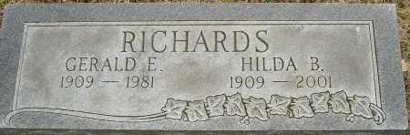 RICHARDS, GERALD E - Franklin County, Ohio | GERALD E RICHARDS - Ohio Gravestone Photos