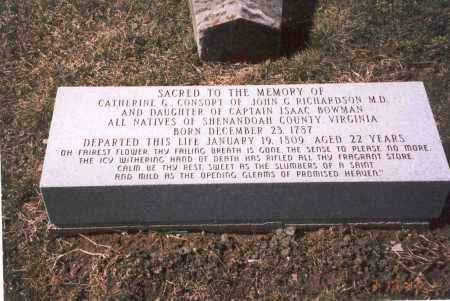 RICHARDSON, CATHERINE G. - Franklin County, Ohio | CATHERINE G. RICHARDSON - Ohio Gravestone Photos