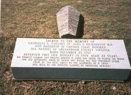 RICHARDSON, CATHERINE - Franklin County, Ohio | CATHERINE RICHARDSON - Ohio Gravestone Photos