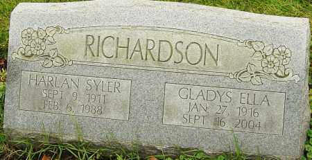 RICHARDSON, GLADYS - Franklin County, Ohio | GLADYS RICHARDSON - Ohio Gravestone Photos