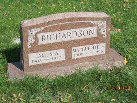 RICHARDSON, JAMES A - Franklin County, Ohio | JAMES A RICHARDSON - Ohio Gravestone Photos