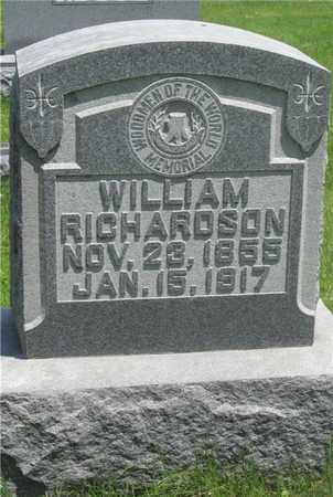 RICHARDSON, WILLIAM - Franklin County, Ohio | WILLIAM RICHARDSON - Ohio Gravestone Photos