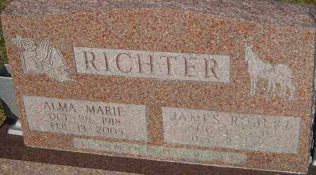 RICHTER, ALMA MARIE - Franklin County, Ohio | ALMA MARIE RICHTER - Ohio Gravestone Photos