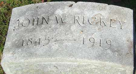 RICKEY, JOHN WALLACE - Franklin County, Ohio | JOHN WALLACE RICKEY - Ohio Gravestone Photos