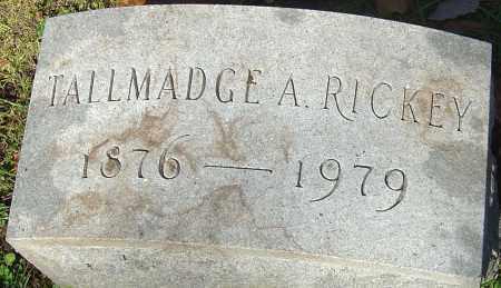 RICKEY, TALLMADGE A - Franklin County, Ohio | TALLMADGE A RICKEY - Ohio Gravestone Photos