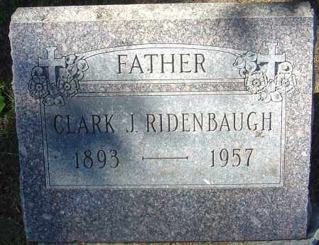 RIDENBAUGH, CLARK J - Franklin County, Ohio | CLARK J RIDENBAUGH - Ohio Gravestone Photos