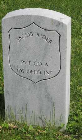 RIDER, JACOB - Franklin County, Ohio | JACOB RIDER - Ohio Gravestone Photos