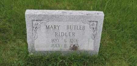 RIDLER, MARY - Franklin County, Ohio | MARY RIDLER - Ohio Gravestone Photos