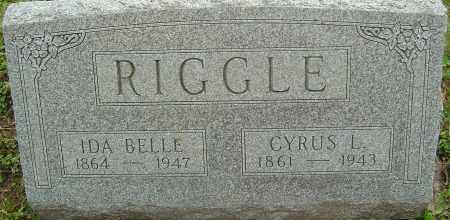 RIGGLE, IDA BELLE - Franklin County, Ohio | IDA BELLE RIGGLE - Ohio Gravestone Photos