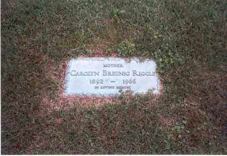 RIGGLE, CAROLYN E. - Franklin County, Ohio | CAROLYN E. RIGGLE - Ohio Gravestone Photos