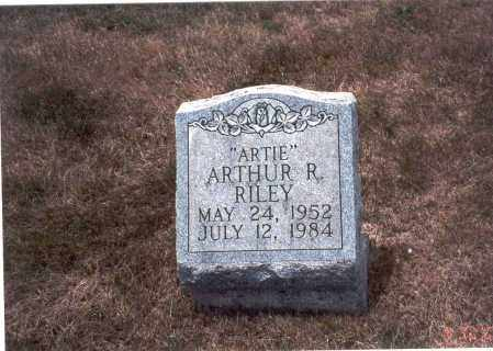 RILEY, ARTHUR R. - Franklin County, Ohio | ARTHUR R. RILEY - Ohio Gravestone Photos
