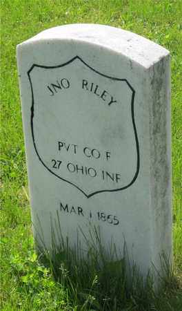 RILEY, JNO. - Franklin County, Ohio | JNO. RILEY - Ohio Gravestone Photos