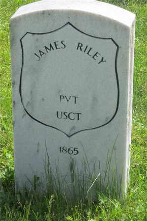 RILEY, JAMES - Franklin County, Ohio | JAMES RILEY - Ohio Gravestone Photos