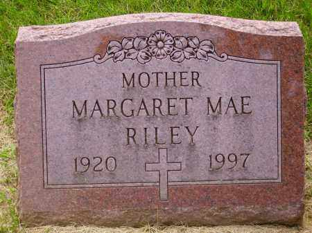 RICE RILEY, MARGARET MAE - Franklin County, Ohio | MARGARET MAE RICE RILEY - Ohio Gravestone Photos