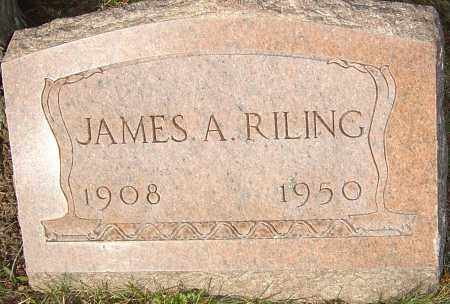 RILING, JAMES - Franklin County, Ohio | JAMES RILING - Ohio Gravestone Photos