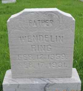 RING, WENDELIN - Franklin County, Ohio | WENDELIN RING - Ohio Gravestone Photos