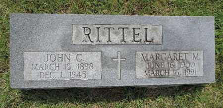 RITTEL, JOHN C. - Franklin County, Ohio | JOHN C. RITTEL - Ohio Gravestone Photos