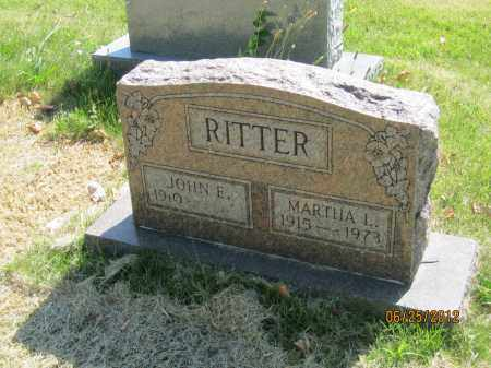 MCCOY RITTER, MARTHA LOUISE - Franklin County, Ohio | MARTHA LOUISE MCCOY RITTER - Ohio Gravestone Photos