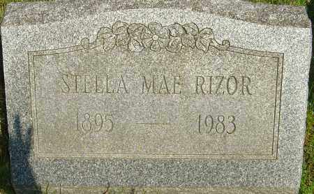 RIZOR, STELLA MAE - Franklin County, Ohio | STELLA MAE RIZOR - Ohio Gravestone Photos