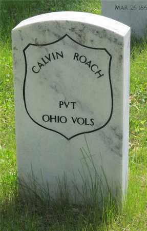 ROACH, CALVIN - Franklin County, Ohio | CALVIN ROACH - Ohio Gravestone Photos