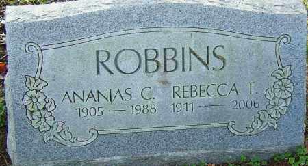 ROBBINS, ANANIAS - Franklin County, Ohio | ANANIAS ROBBINS - Ohio Gravestone Photos