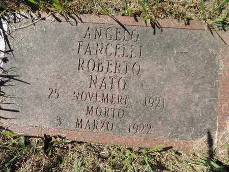 ROBERTO, ANGELO - Franklin County, Ohio | ANGELO ROBERTO - Ohio Gravestone Photos