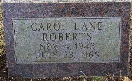 LANE ROBERTS, CAROL - Franklin County, Ohio | CAROL LANE ROBERTS - Ohio Gravestone Photos