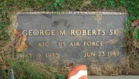 ROBERTS, GEORGE M. - Franklin County, Ohio | GEORGE M. ROBERTS - Ohio Gravestone Photos