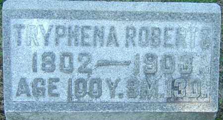 ROBERTS, TRYPHENA - Franklin County, Ohio | TRYPHENA ROBERTS - Ohio Gravestone Photos