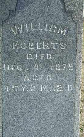 ROBERTS, WILLIAM - Franklin County, Ohio | WILLIAM ROBERTS - Ohio Gravestone Photos